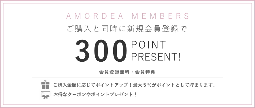 300POINTプレゼント
